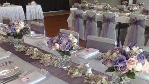 Тонкости оформления свадебного стола