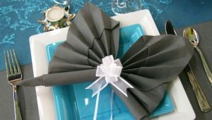 Оригами из салфеток: красивые идеи и техники выполнения