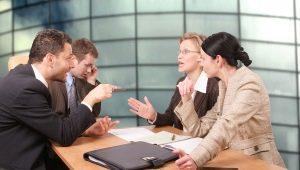 Виды деловой беседы