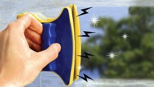 Выбираем магнитную щетку для мытья окон