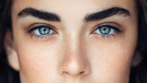 Густые брови: виды, наращивание и макияж
