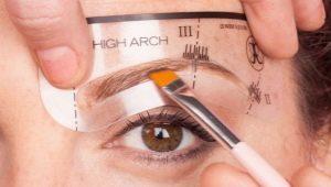 Трафарет для бровей: как выбрать и правильно использовать?