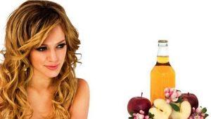 Яблочный уксус для волос: применение, польза и вред