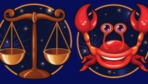 Весы и Рак: характеристика и совместимость знаков в разных сферах жизни