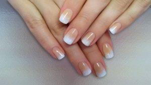 Белый градиент на ногтях: идеи оформления и особенности декора