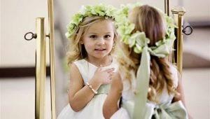 Какую прическу выбрать для девочки на свадьбу?