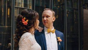 Оригинальные варианты свадебных причесок с хвостом