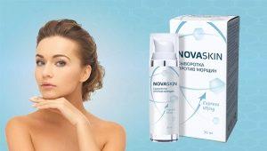 Особенности и принцип действия сыворотки против морщин Novaskin