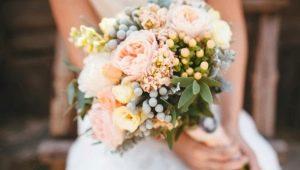 Стили свадебного букета невесты