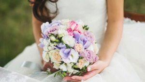 Свадебный букет невесты из гортензии: варианты красивых композиций и сочетаний