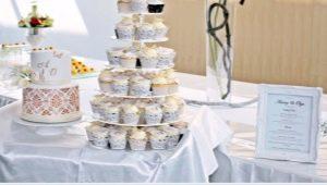 Свадебный торт с капкейками: оригинальные идеи и советы по выбору