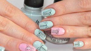 Дизайн ногтей гель-лаком в пастельных тонах