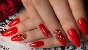 Гель-лак на длинные ногти: цвета, декор и новинки дизайна