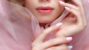 Идеи оформления матовых наращенных ногтей