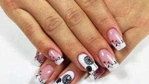 Как сделать красивые квадратные наращенные ногти?