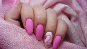 Розовый гель-лак: с какими цветами его сочетать и какой дизайн выбрать?