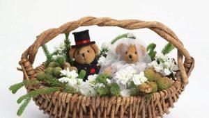 Свадебные корзины: виды, советы по изготовлению и украшению