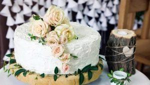 Свадебный торт без мастики: виды десертов и варианты дизайна
