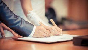 Условия и порядок государственной регистрации брака