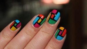 Все о рисунках на ногтях акриловыми красками