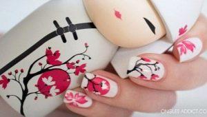 Яркие идеи для создания маникюра с сакурой