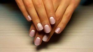 Идеи неяркого маникюра для коротких ногтей