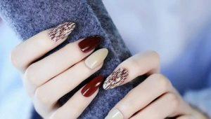 Интересные идеи для дизайна овальных ногтей