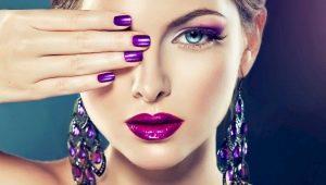 Лучшие идеи фиолетового маникюра на короткие ногти