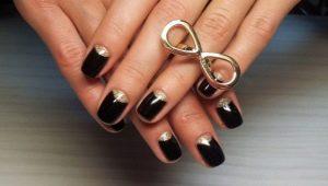 Маникюр с лунками: варианты дизайна и техника оформления ногтей