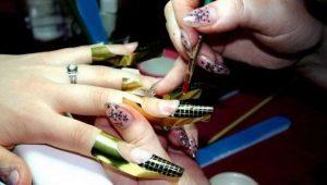 Выбор и технология применения формы для наращивания ногтей