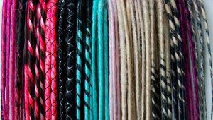 Дреды из канекалона: виды и способы плетения