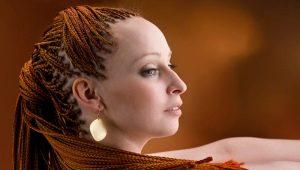 Канекалон на короткие волосы: правила плетения