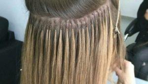 Микрокапсульное наращивание волос: особенности, виды и советы