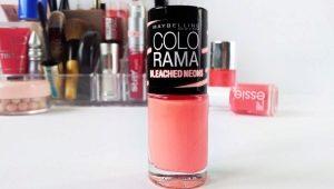 Особенности и палитра цветов лаков для ногтей Colorama