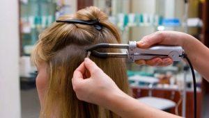 Особенности и способы наращивания волос для объема