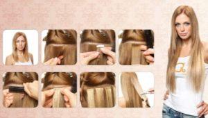 Плюсы и минусы ленточного наращивания волос
