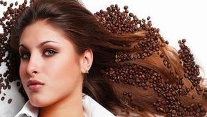 Как покрасить волосы с помощью кофе?