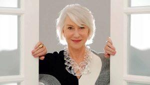 Модные стрижки для женщин 60 лет