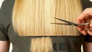 Как подровнять волосы?