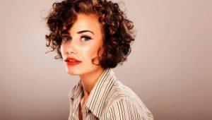 Лучшие стрижки для коротких вьющихся волос