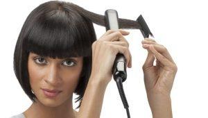 Варианты укладок утюжком для коротких волос