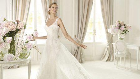 Длинное свадебное платье мечты – какое оно?