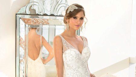 Как сшить свадебное платье с открытой спиной