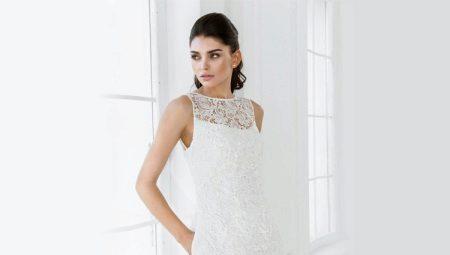 da2032a1efab989 Простые свадебные платья: модные фасоны, короткое, пышное и длинное ...