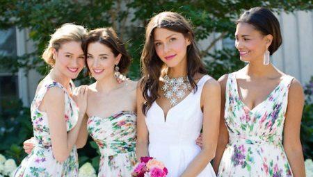 2eff03b230ab46c Вечерние платья для подружек невесты одного цвета или разных оттенков