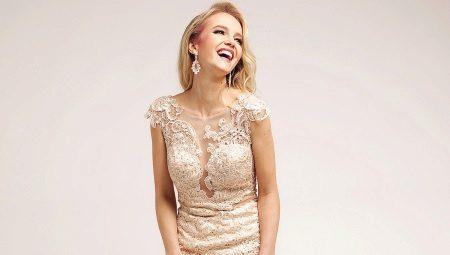 0d9e86f62536f6c Вечерние платья из гипюра: длинные и короткие гипюровые платья, с ...