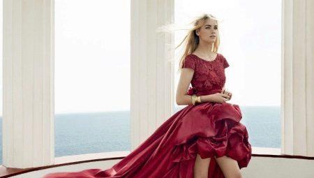 d528da303f2da15 Вечерние платья, короткие спереди и длинные сзади: плюсы, стильные ...