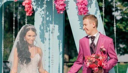 cf0c5b425e74d40 Розовые свадебные платья: лучшие оттенки, пышное, короткое или бело ...