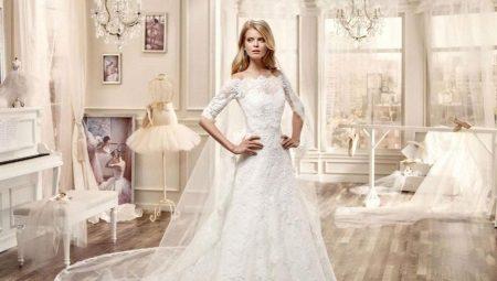 529850e535e55fc Свадебные платья с рукавами: с кружевом, длинные и закрытые, со шлейфом