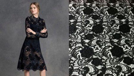 Ткань на платье как называется